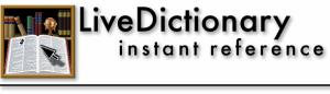 LiveDictionary Logo